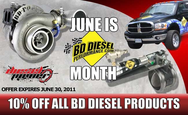 June is BD Power Month, so from now until June 30th 2011, ALL BD parts and accessories are 10% off!