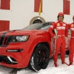 Ferrari Flavored Jeep Grand Cherokee SRT8