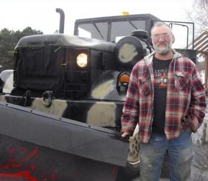 Gerard Belanger Army Jeep Centerville