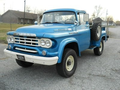 '59 Dodge Power Wagon with Cummins Diesel Engine