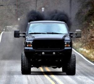 rolling-coal-ford-superduty-diesel