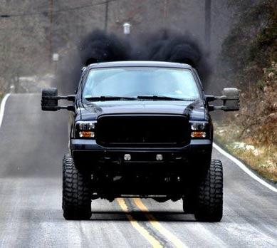 Rolling Coal Ford Superduty Diesel