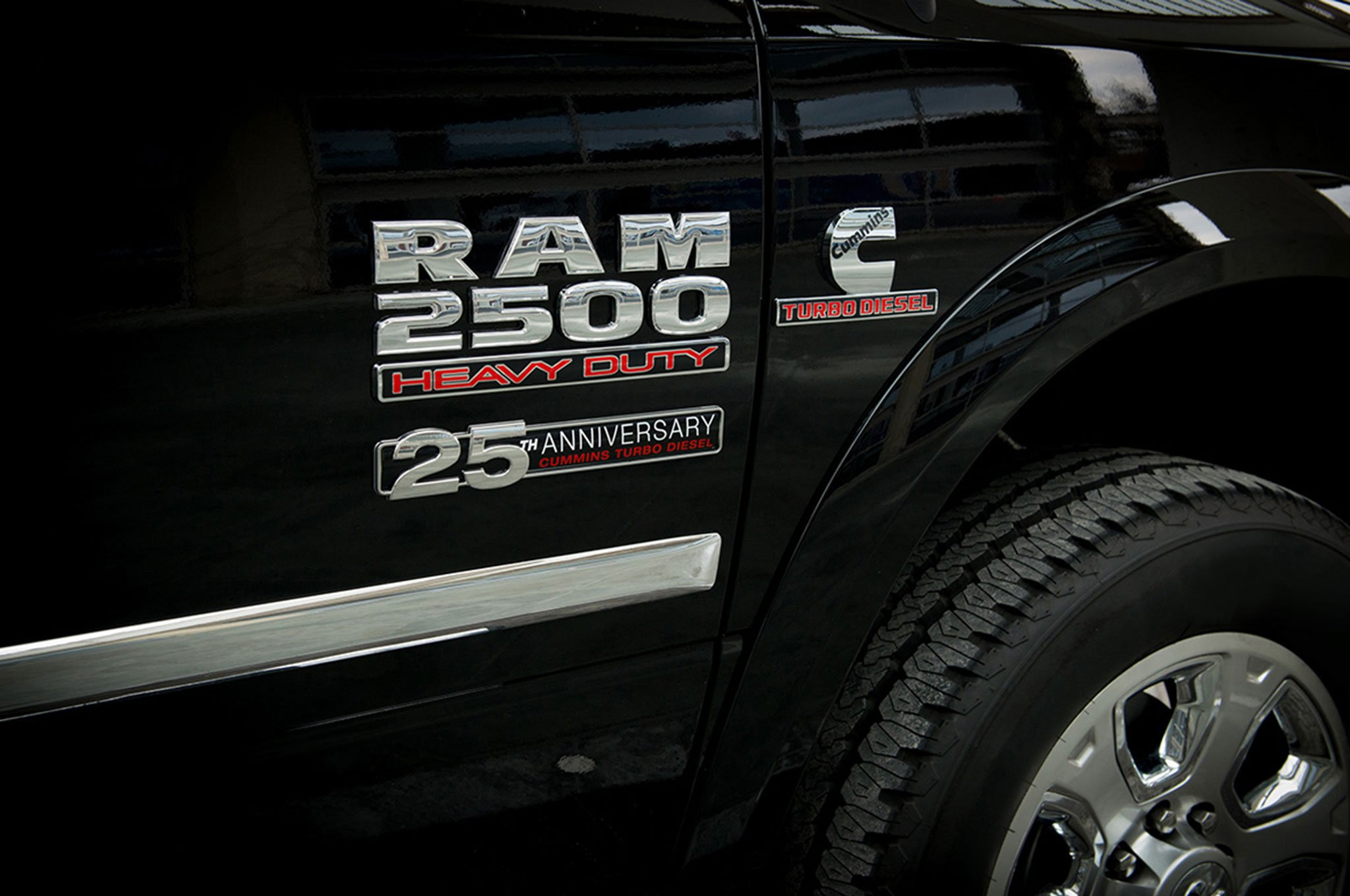 Cummins 25th Anniversary Package For Ram Trucks And Black