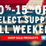 Happy Birthday America! 4th of July Weekend Savings