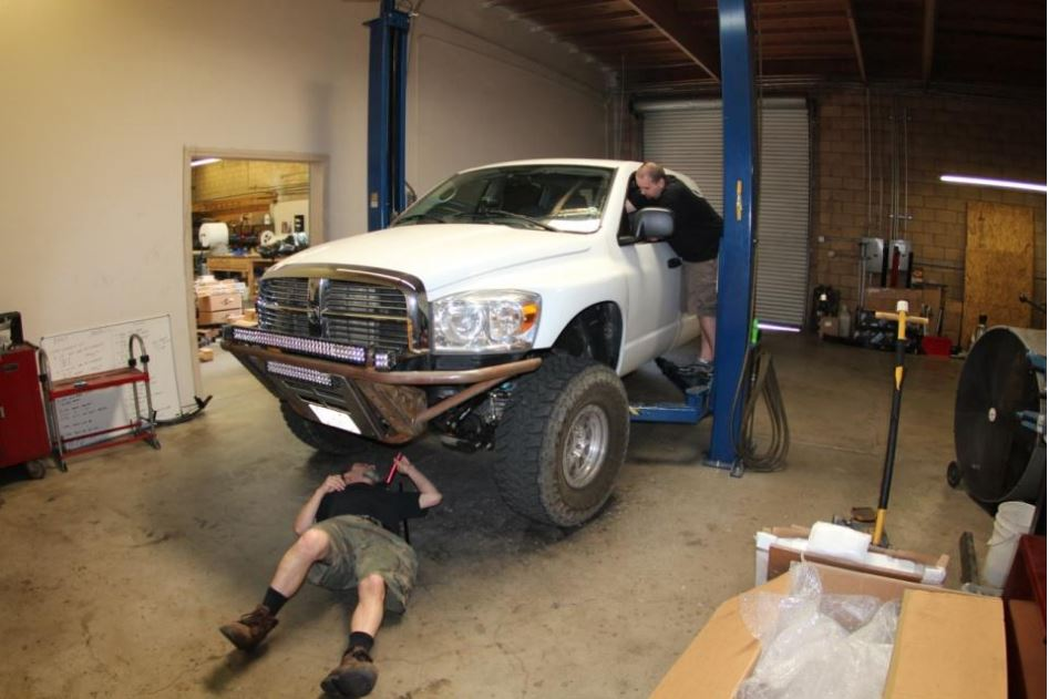 Ford f250 death wobble