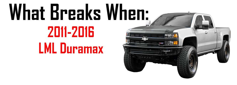 What Breaks When 2011 2016 Chevy Duramax Lml Diesel Power