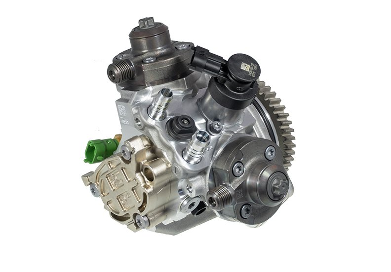 CP4 injection pump on Duramax