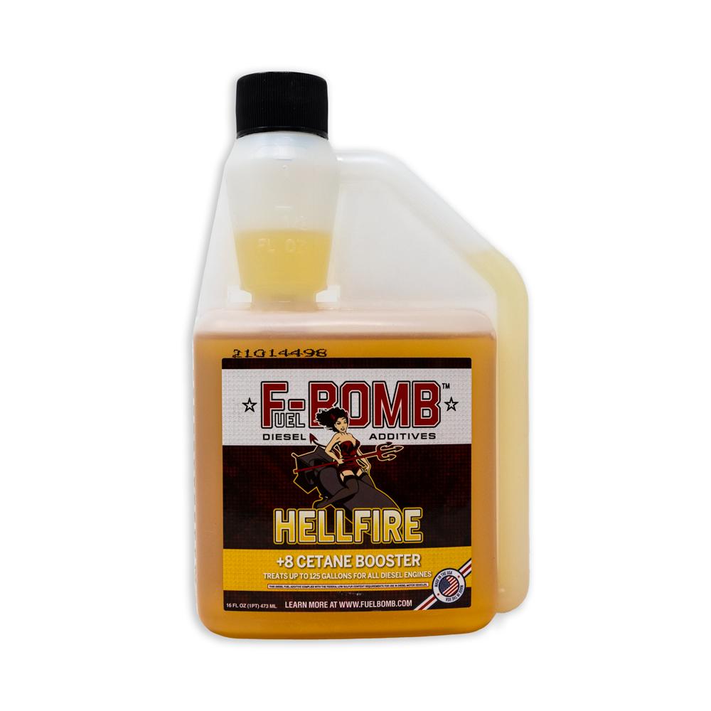 Fuel Bomb Hellfire Diesel 8 Cetane Booster