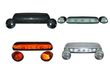 "2010-2018 Dodge Ram 1500 6.7L Roof Cab Light Taillights Headlamps /""High Power/"""