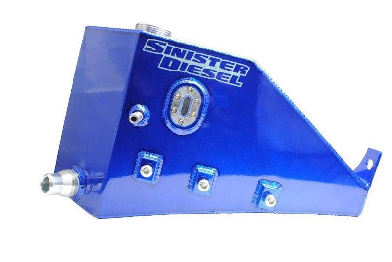 Sinister Diesel Degas Bottle Cap for 2008-2010 Powerstroke 6.4L