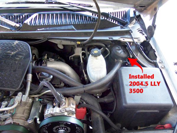 Ppe Crankcase Breather Filter Kit 04 5 10 6 6l Gm Duramax