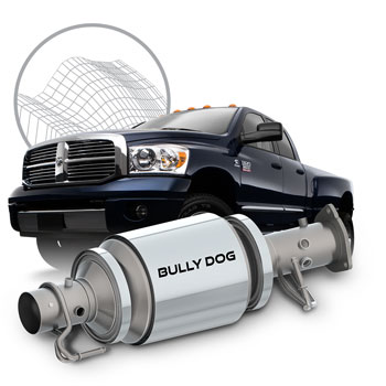 Bully Dog 70020 Performance DPF (Diesel Particulate Filter) 07 5-12 6 7L  Dodge Cummins
