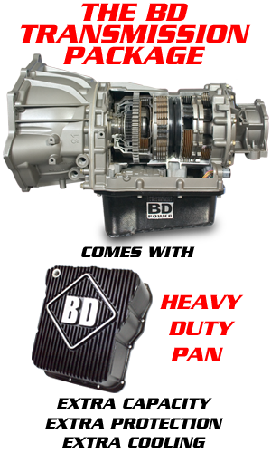 BD Allison 1000 Transmission 01-04 6 6L LB7 Duramax 4 Wheel Drive