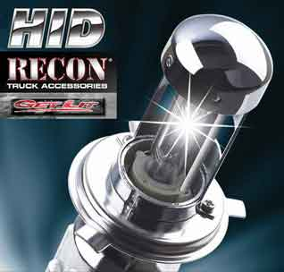 Recon Clear Projector Headlights Dodge Ram 2006 09
