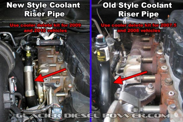 egr cooler delete hose dodge cummins diesel forum