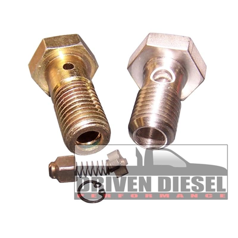 driven diesel regulated return fuel system kit 03-07 6 0l ford powerstroke
