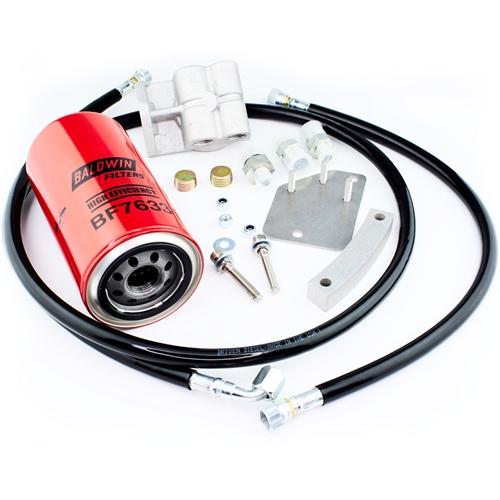 driven diesel post pump fuel filter kit 94-03 powerstroke  diesel power products