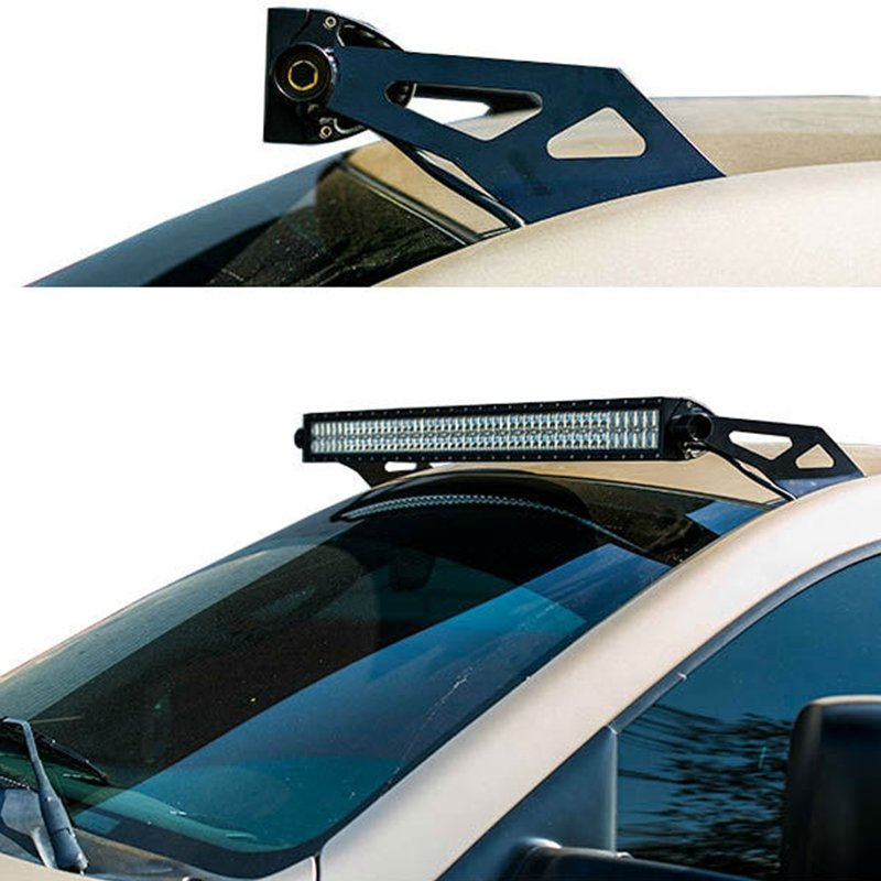 Socal supertrucks 50 led light bar roof mount brackets 03 09 ram aloadofball Images