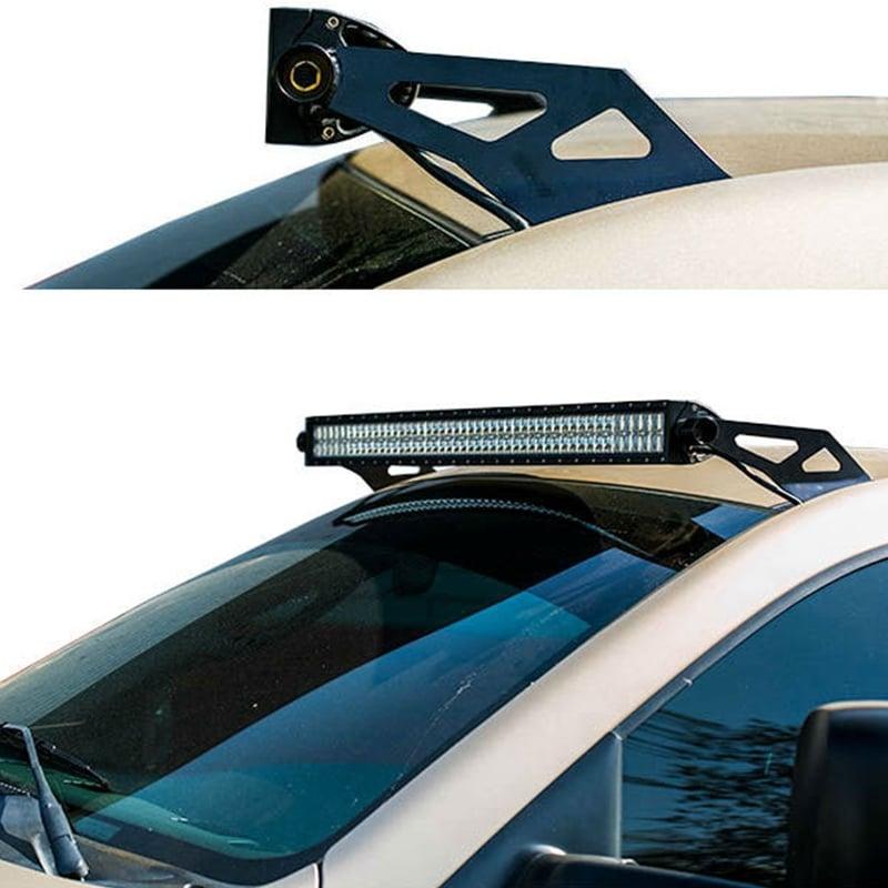Socal supertrucks 50 led light bar roof mount brackets 03 09 ram aloadofball Images