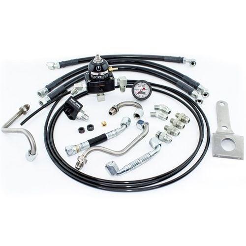 11 thru 16 Super Duty OEM Ford 6.7L Diesel Fuel Injector Return Line Hose Kit