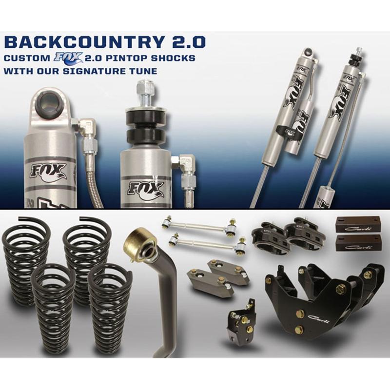Carli Suspension Inc: Carli Suspension Back Country Suspension System 2014-2015