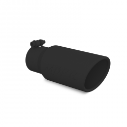 "MBRP DIESEL EXHAUST TIP 3.5/"" INLET 4/"" OUTLET DUAL WALL ANGLED 10/"" LENGTH T5110"