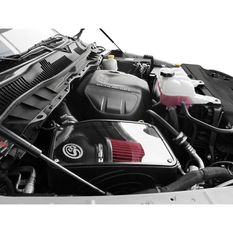 S/&B COLD AIR INTAKE 14-18 DODGE RAM 1500 ECODIESEL 3.0L V6 OILED FILTER 75-5074