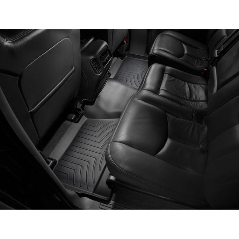 Weathertech Custom Fit Rear Floorliner For Chevrolet Silverado Crew Cab Tan Interior Accessories Automobilia