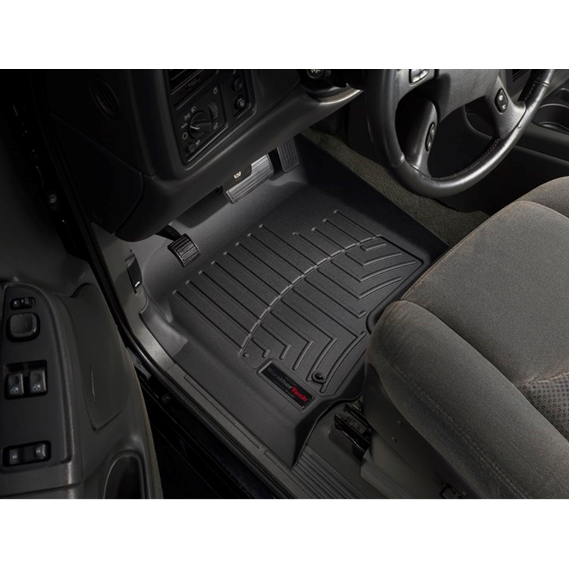 WeatherTech  440622  Custom Fit Rear FloorLiner for Select Chevrolet//GMC Models Black