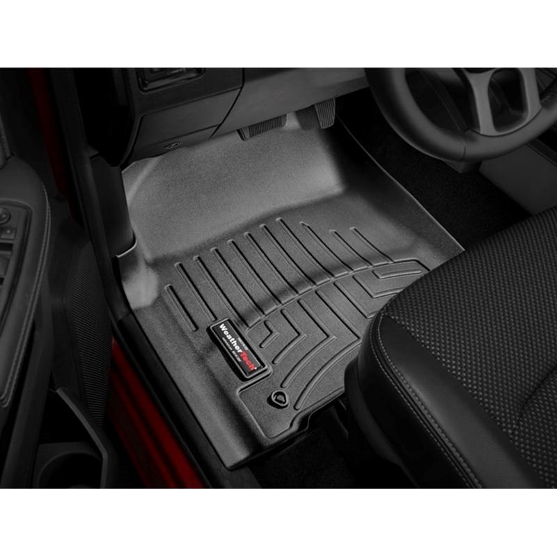 442163 WeatherTech Custom Fit Rear FloorLiner for Select Dodge Ram Models Black