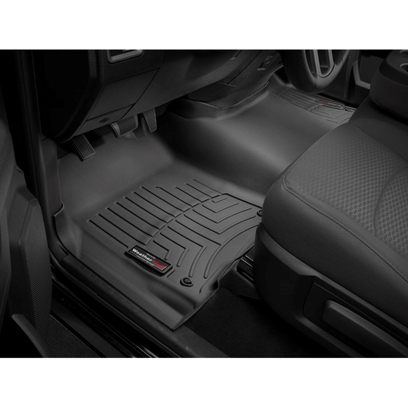 Grey 460121 WeatherTech Custom Fit Front FloorLiner for Dodge Ram 1500 Pickup QuadCab