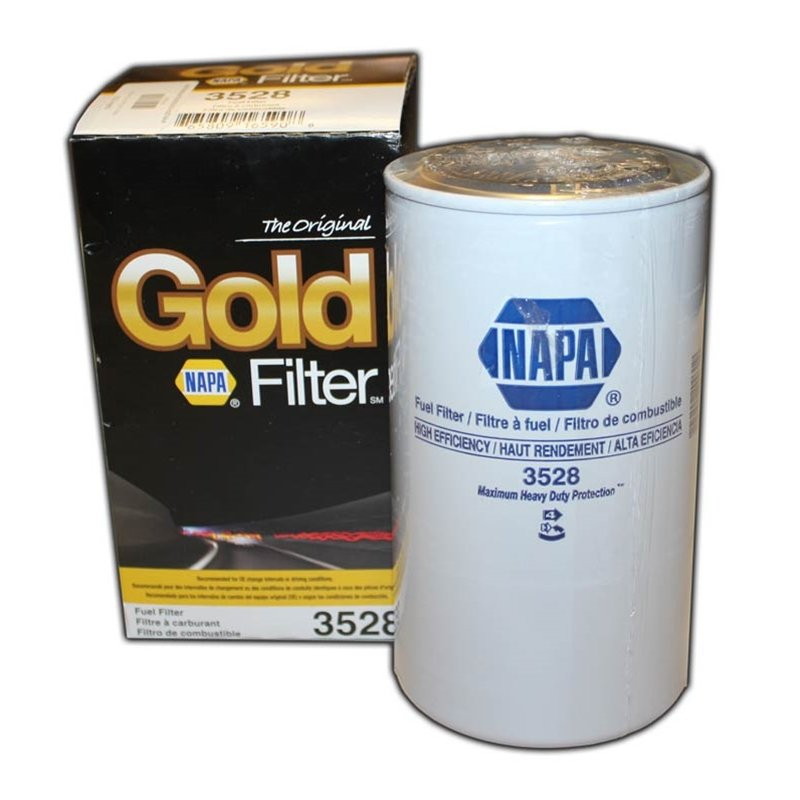 NAPA Gold 2 Micron Spin On Fuel Filter - Replacement for FASS Titanium