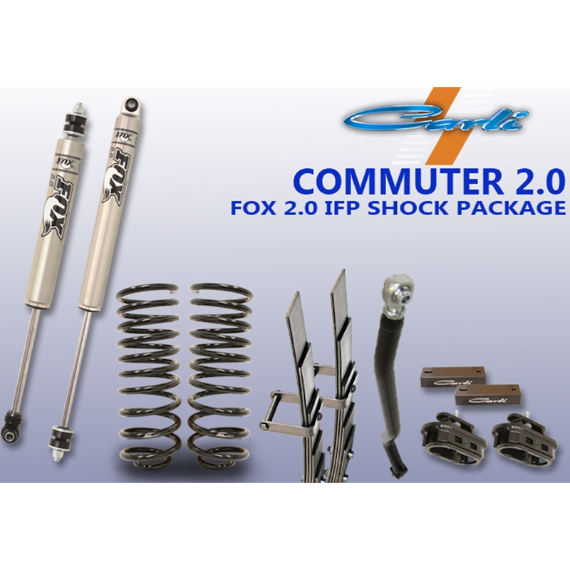 Carli Suspension Inc: Carli Suspension Commuter 2.0 Suspension System 2013-2015