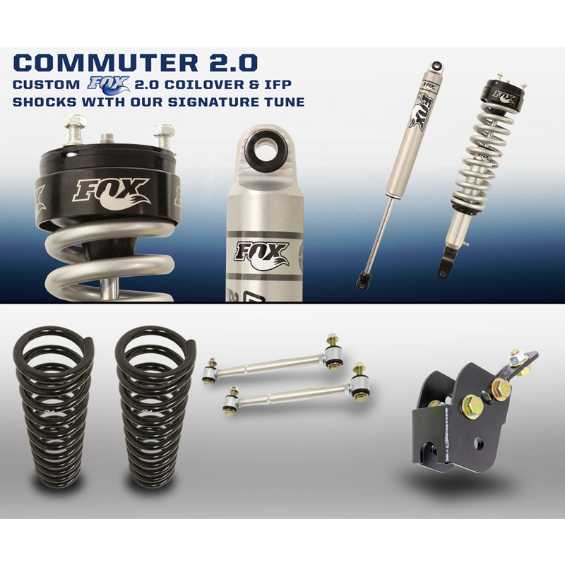 Carli Commuter 2 0 Suspension System 09-18 Ram 1500 3 0L EcoDiesel / Hemi