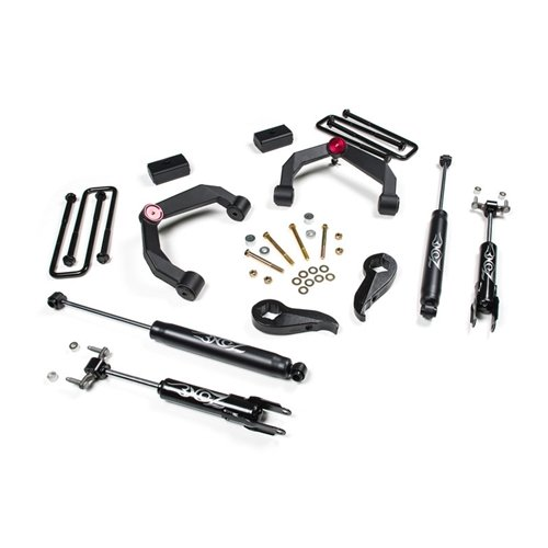 zone offroad 3 adventure series uca lift system 11 19 gm 2500hd 3500