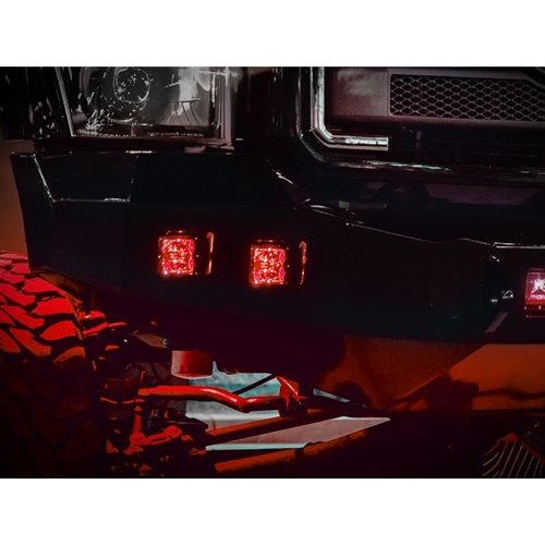 Rigid Industries Pair Radiance Pod Red Backlight Fast Free Shipping 20202