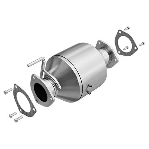 Catalytic Converter-4WD Rear DEC Converters NIS2506