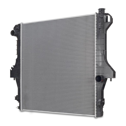 2711 Factory Style Aluminum Cooling Radiator Replacement for 03-10 Dodge Ram Truck 2500//3500//4500//5500 5.9L//6.7L
