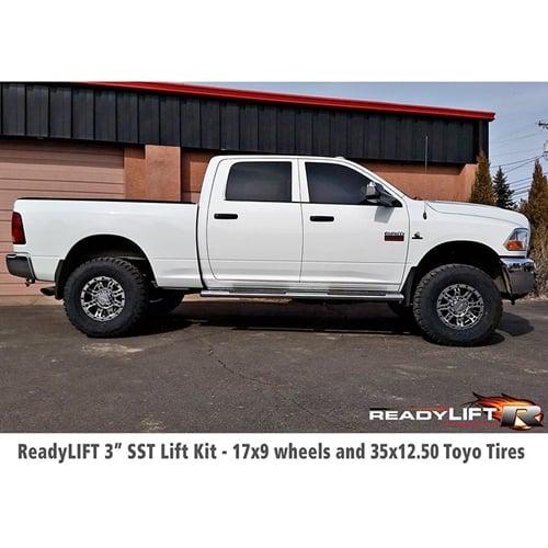 Ram 2500 Lift Kit >> Readylift 69 1231 3 Front 1 Rear Sst Lift Kit 14 18 Ram 2500