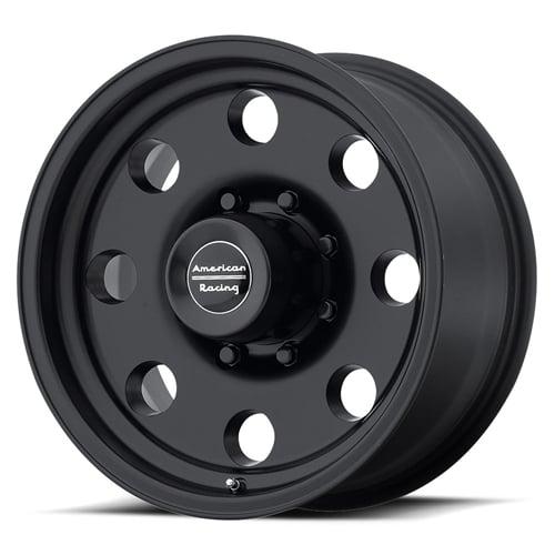 Ram 1500 Lug Pattern >> American Racing Ar172 Baja Black Wheel 17 X 8 8x6 5 Bolt Pattern