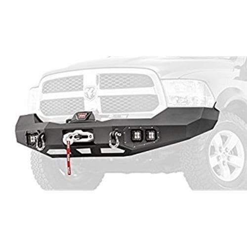 Ram 1500 Bumper >> Warn 100922 Ascent Front Winch Bumper 13 18 Ram 1500 4x4