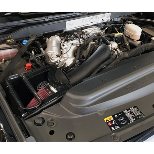 FOR 2017-2019 DURAMAX L5P 6.6L; 75-5103D DRY S/&B COLD AIR INTAKE