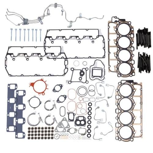 Long /& Short Head Gaskets with Head Bolts 08-10 Ford Powerstroke 6.4L Diesel