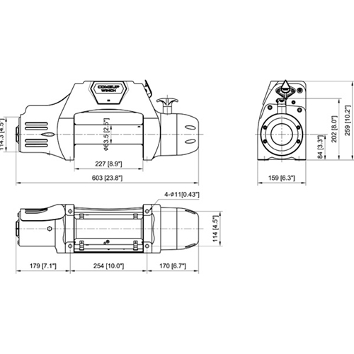 Diagram Provided By Warn For Their 95si Winch Remote - Wiring ... on