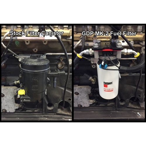 Gdp Mk 2 Big Line Kit Non Heated Fuel Filtration 6 7 Ram Cummins