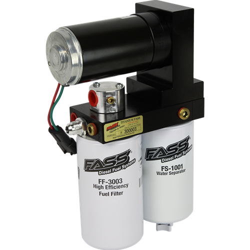 FASS TS D10 240G Titanium Signature Series Fuel Lift Pump 240GPH 94-98 5 9L  Dodge Cummins 12 Valve