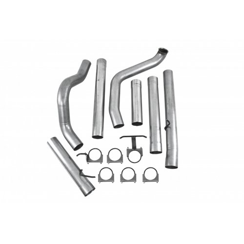 "99-03 Ford 7.3 7.3L Powerstroke Diesel Diamond Eye 4/"" Turbo Back Exhaust System"