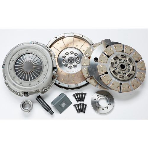 South Bend SSFDD3600CB60 Super Street Dampened Dual Disc Clutch Kit 03-07  6 0L Ford Powerstroke ZF6