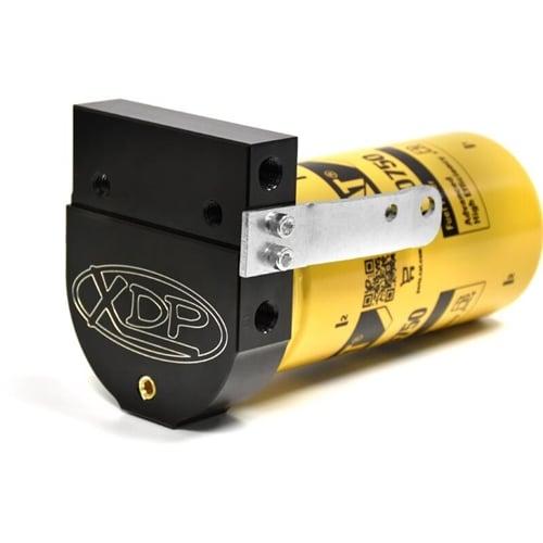 [FPWZ_2684]  XDP CAT Fuel Filter Adapter 05-07 5.9L Dodge Cummins | 05 Dodge Diesel Fuel Filter Housing |  | Diesel Power Products
