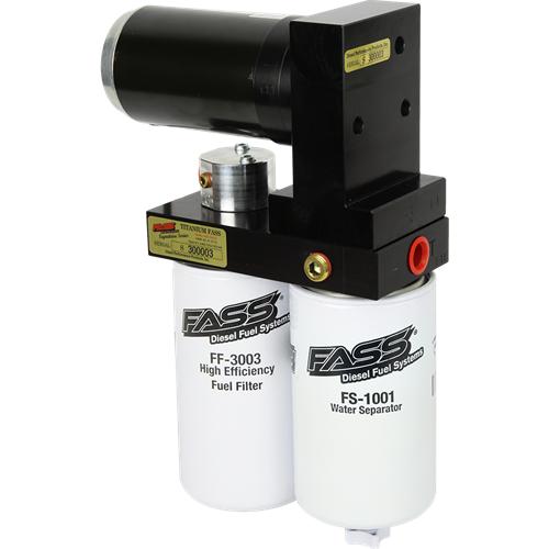FASS TS 290G Titanium Series Fuel System Cummins, CAT, Detroit
